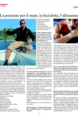 Articolo Sport Duemila articolo Ivan Lo Cicero personal trainer 2013 pagina due